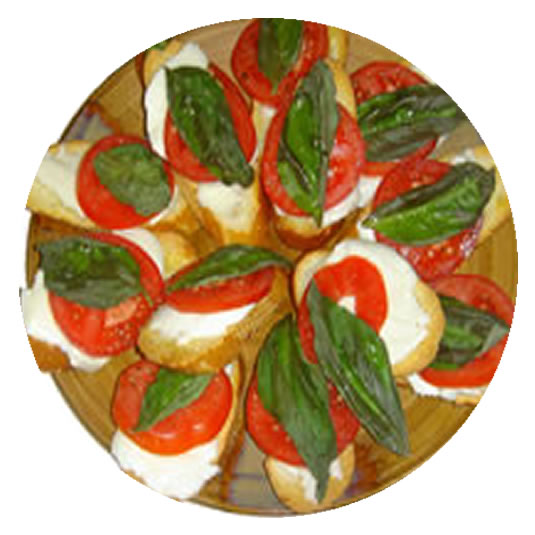 Bocconcini and Fresh Tomatoes