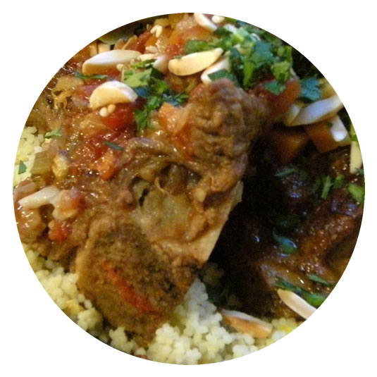 Braised Lamb Stew on Rice