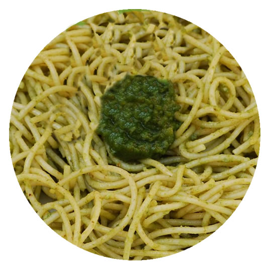 Pesto Parsley Basil Pasta
